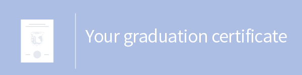 Your graduation certificate