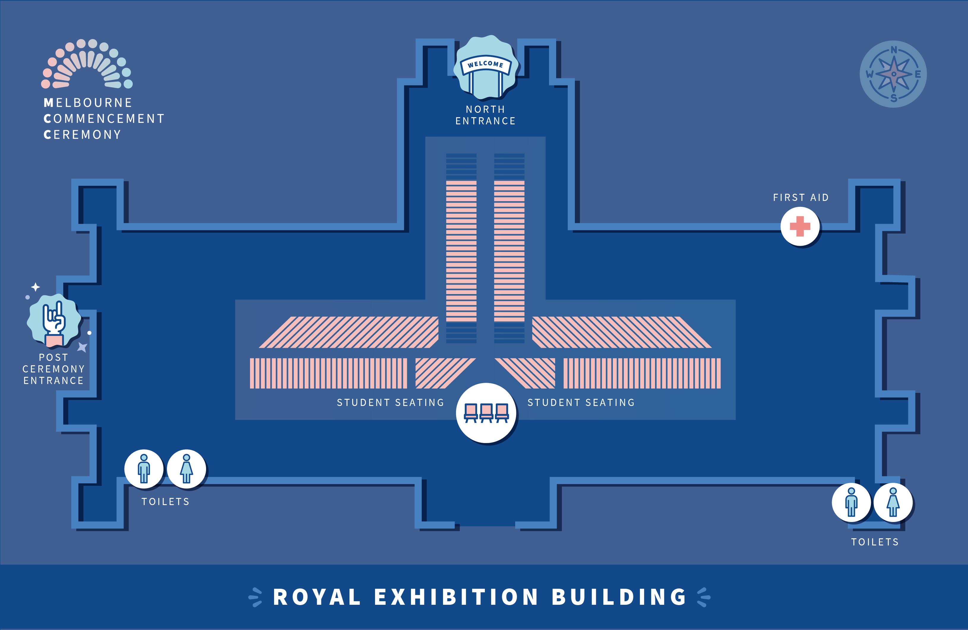 Royal Exhibition Building floor plan thumbnail