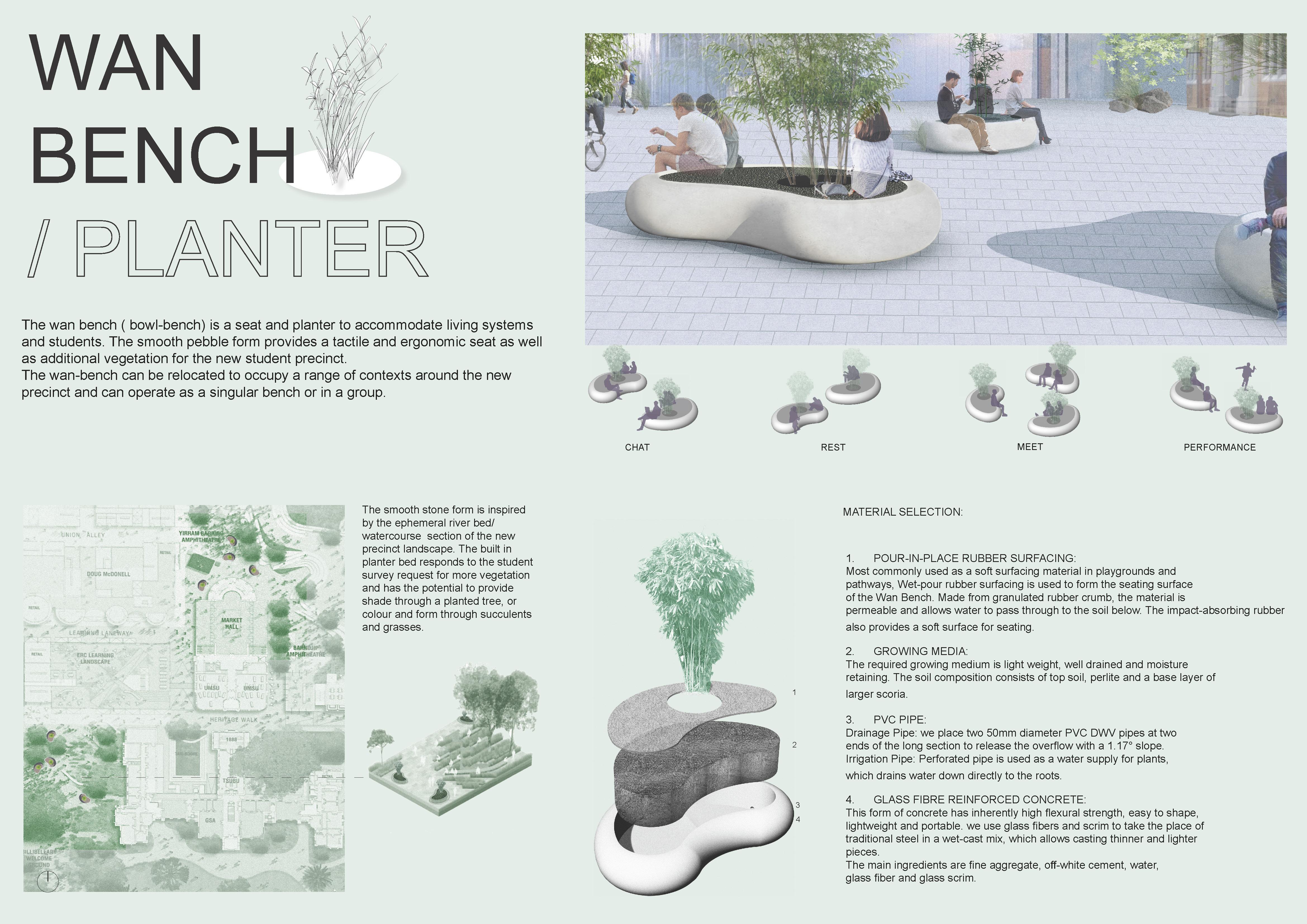 Concept design for the Bean Planter