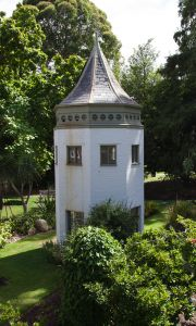 Photograph of the System Garden tower for phone background
